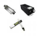 Kit éclairage 400W class2 Réflecteur Cooltube 120mm HPS Ortica Plug and grow