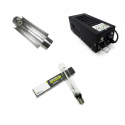 Kit éclairage 250W class2 Réflecteur Cooltube 120mm HPS Ortica Plug and grow