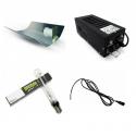 Kit éclairage 400W class2 Réflecteur MarteléHPS Ortica Plug and grow