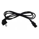 Câble Electrique 1.80m avec prise IEC femelle