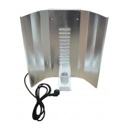 Réflecteur renforcé cablé 3m CFL Deluxe lampe ECO