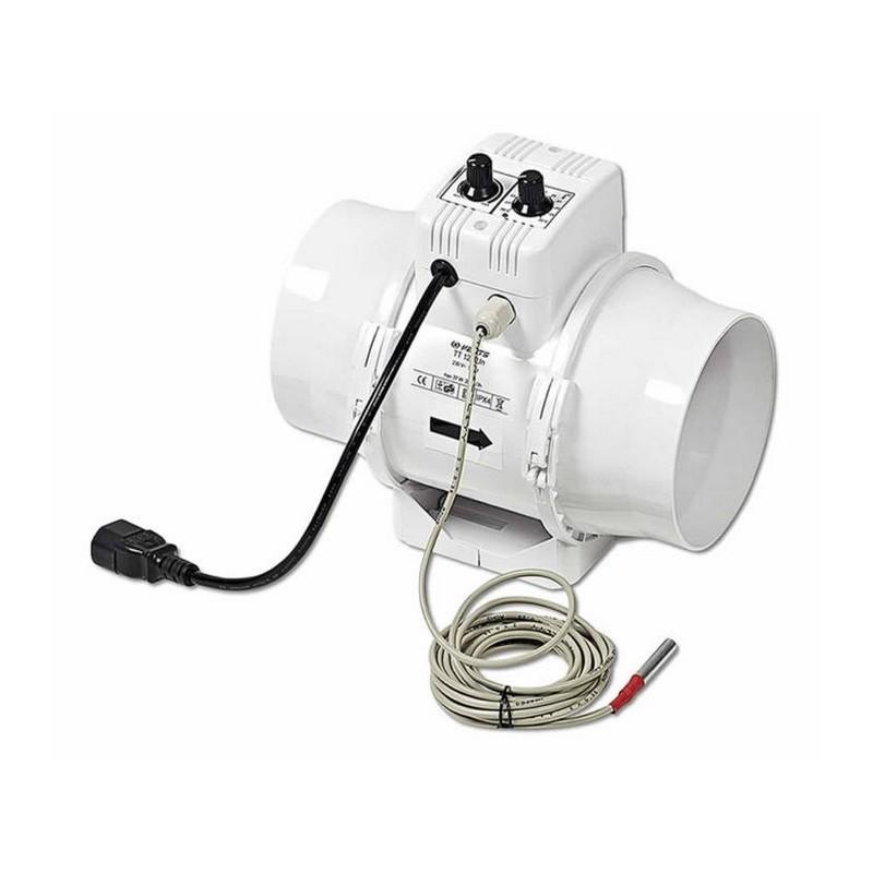 Vents Extracteurd Air Un Tt 150mm Variateur Thermostat 560m3