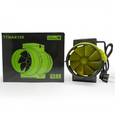 PROFAN extracteur TT 125mm 2 vitesses 220m3/280m3