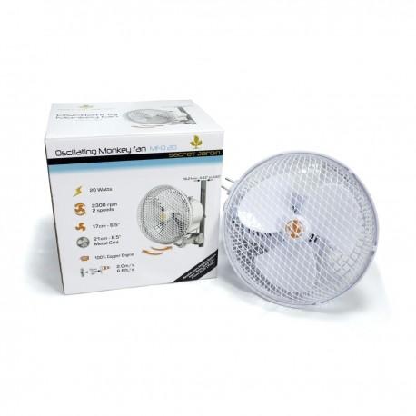 Secret Jardin Ventilateur oscillant Monkey Fan 20W
