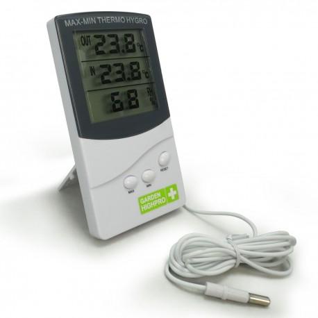 Thermomètre Hygromètre Digital Medium Garden HighPro