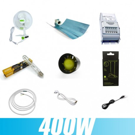 Kit culture indoor 400W 1er Prix