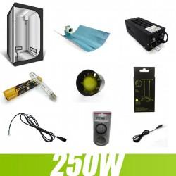 Pack culture indoor 250W G-Light 80x80x160cm