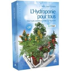Livre L'hydroponie pour tous William Texier
