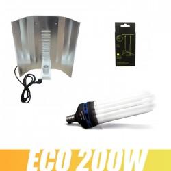 Kit CFL 200W 6400k Croissance