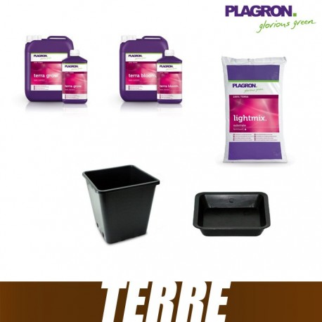 Pack Terre Plagron LightMix 50L Terra Bloom Terra Grow