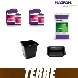 Pack Terre Plagron BatMix 50L Terra Bloom Terra Grow