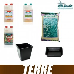 Pack Terre Canna PRO Terra Vega Terra Flores CannaBoost