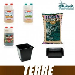 Pack Terre Canna PRO PLUS Terra Vega Terra Flores CannaBoost