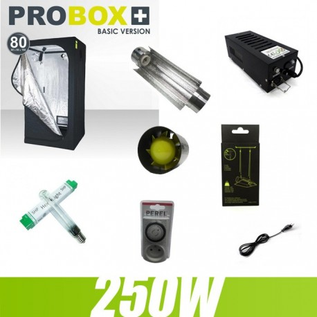 Pack culture indoor 250W G-Light 80x80x160cm