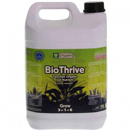 bio thrive grow 5L GHE