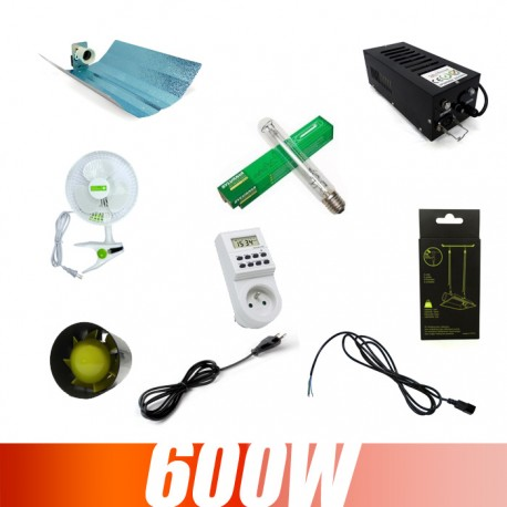 Kit culture indoor 600W Class2 Grolux