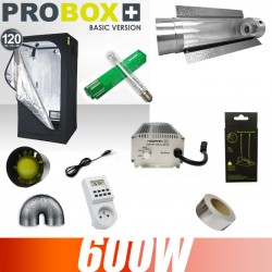 Pack complet 600W ballast électronique Grolux Probox 120