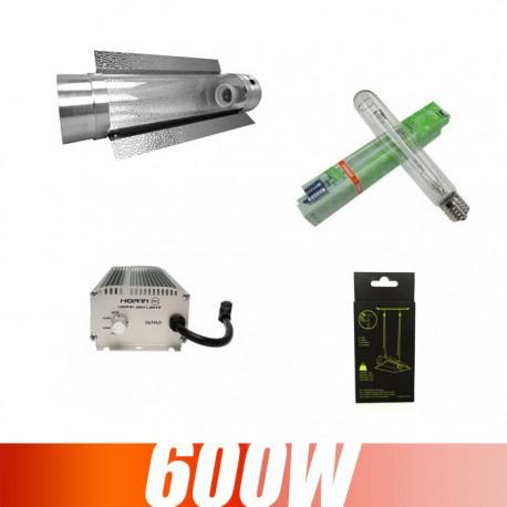 Kit éclairage Ballast électronique 600W cooltube Plantastar Osram
