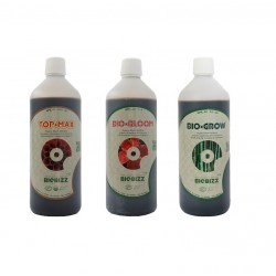 Pack Biobizz 3x1L Bio bloom Bio grow Topmax