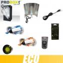 Pack culture intérieur CFL 200W Croissance Floraison box 100