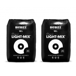 Lot de 2 Biobizz Light Mix 50L