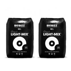 Lot de 2 Biobizz Light Mix 50L
