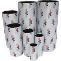 ODORSOK Filtre 125mm 360m3 à Charbon actif