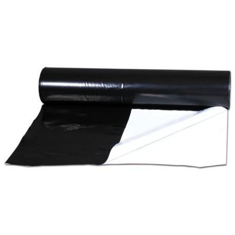 Bache noire et blanche