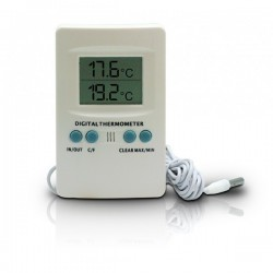Thermomètre Hygromètre Digital Min/Max avec Sonde