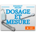 Dosage et Mesure