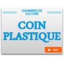 Coin plastique