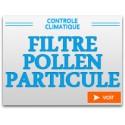 Filtre Pollen Particule