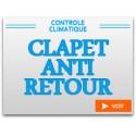 Clapet anti-retour