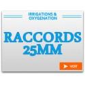 Raccords 25mm