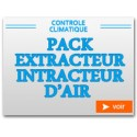 Pack Extracteur Intracteur d'air