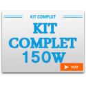 Kit Complet 150W avec chambre de culture