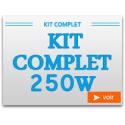 Kit Complet 250W avec chambre de culture