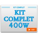 Kit Complet 400W avec chambre de culture