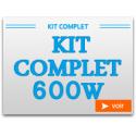 Kit Complet 600W avec chambre de culture
